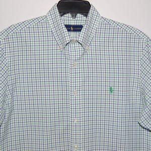 Ralph Lauren checks short sleeve shirt